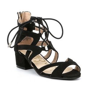 Sam Edelman lace up sandals, brand new!
